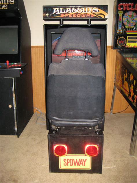 Sit Arcade Cabinet by How To Build A Sit Driving Arcade Cabinet