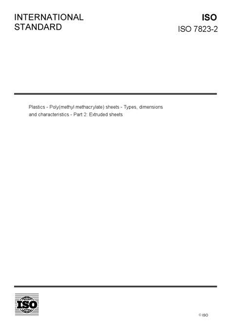 ISO 7823-2 - European Standards