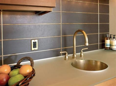 metal tiles for kitchen backsplash metal backsplash ideas hgtv