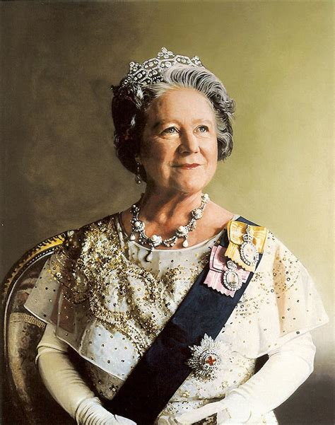 queen mother elizabeth bowes lyon queen consort of the united kingdom
