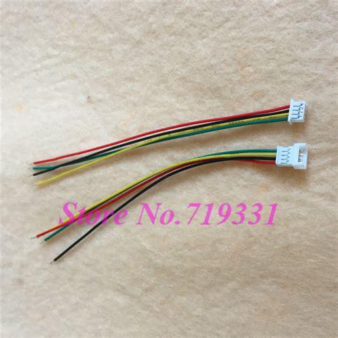 Spareparr Elektronik C 763 5pcs 20 sets mini micro jst 1 25 4 pin conecort cable with