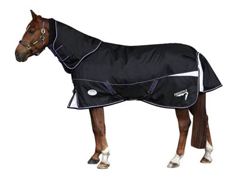 Heavy Weight Turnout Rug by Weatherbeeta Freestyle 1200d Detach A Neck Heavy Weight
