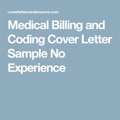 cover letter for billing and coding 25 best ideas about billing on
