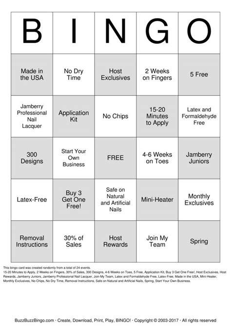 make your own custom bingo cards free jambingo bingo cards to print and customize