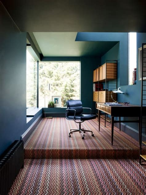 15 inspirational midcentury modern home office designs