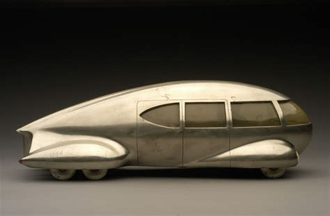 deco concept car 1933 teardrop car car number 9 and