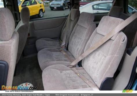 service manual manual repair autos 2001 chevrolet venture seat position control service
