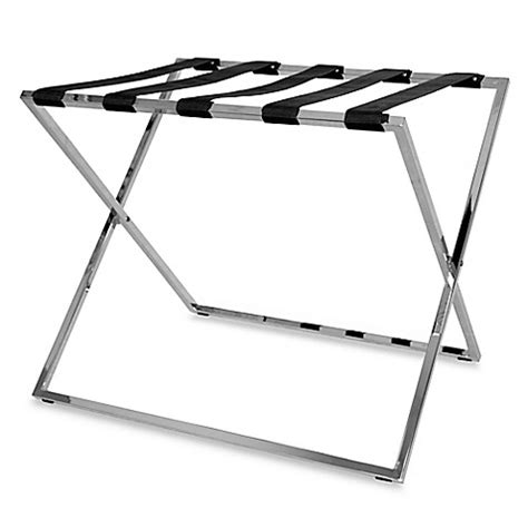 bed bath and beyond luggage rack skylar folding luggage rack bed bath beyond