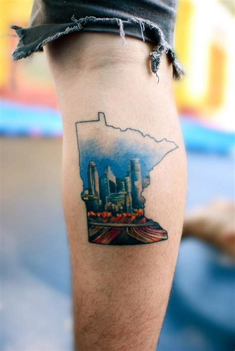 minnesota tattoo designs minnesota and a cities
