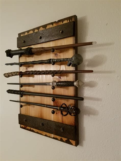 harry potter wand holder holds 1 to 12 wands wand rack