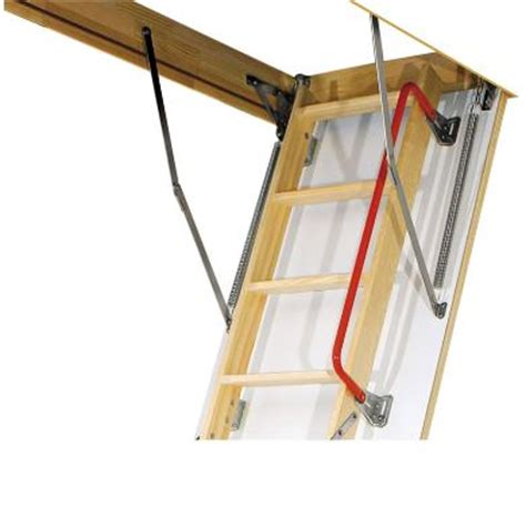 3 Section Ladder by 3 Section Timber Folding Loft Ladder