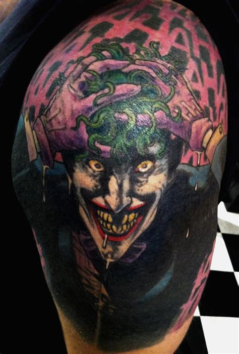 best joker tattoo ever best joker tattoo designs