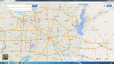 dallas texas us map dallas texas map