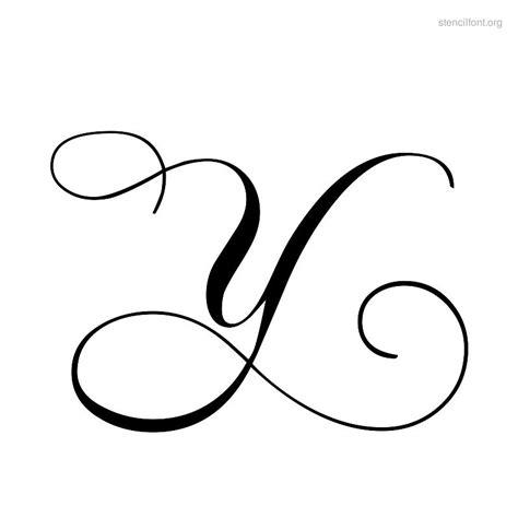 the script y script stencil font stencil font org