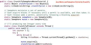 what is template in java what is java semaphore and mutex java concurrency