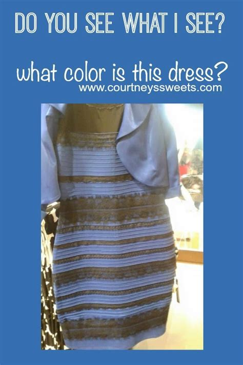 Blue And Black Or White And Gold Dress by White And Gold August 2015