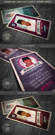 vintage baseball card template 1000 images about sports cards on trading