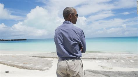 obama island obama highlights climate agenda on tiny midway island