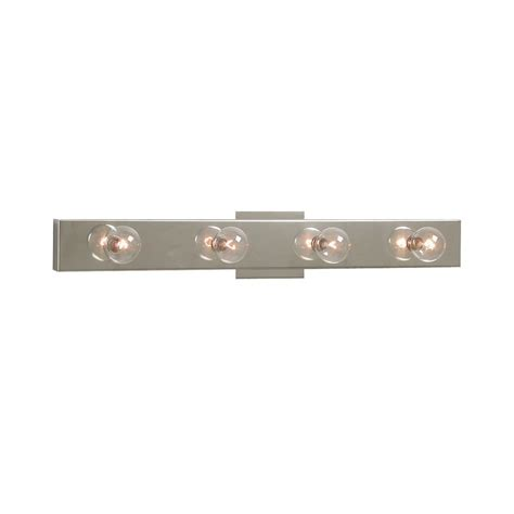 In Vanity Light Bar by Shop Galaxy 4 Light 2 875 In Chrome Rectangle Vanity Light