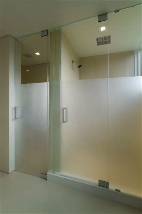 Frosted Shower Glass Doors Shower Doors Steam Frosted