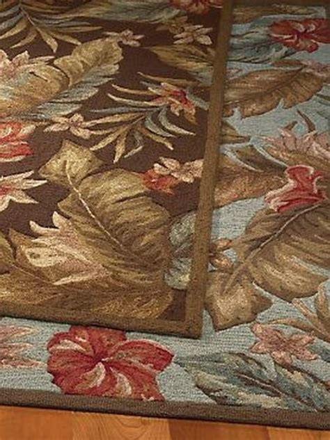 tropical outdoor rugs indoor outdoor tropical floral rugs the hawaiian home