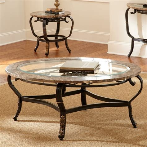 Coffee Table Sets Glass Glass Top Living Room Tables Peenmedia