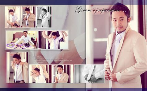 wedding photobook layout wedding album layout magnetique sle by jonacabo on