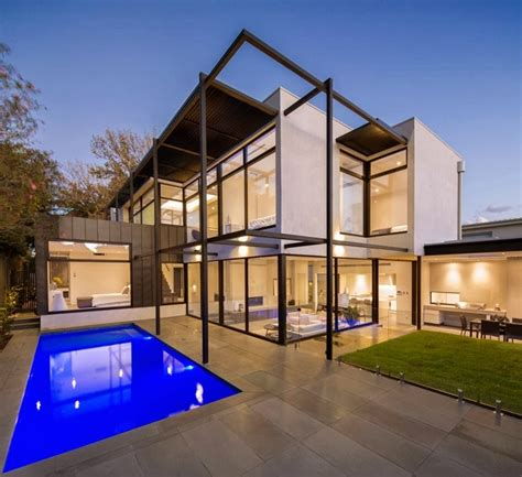 modern architectural style contemporary style home by domoney architecture