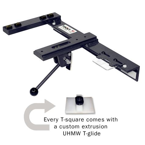 table saw sliding table attachment style adjustable t square for sliding table saws