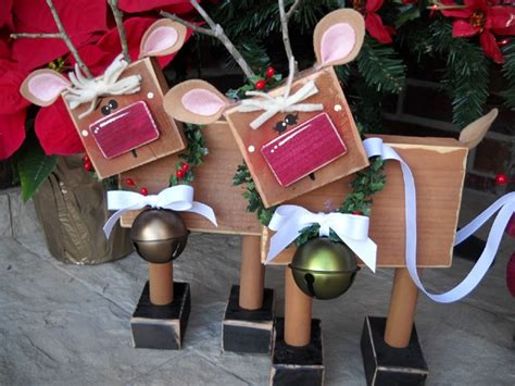 wooden christmas craft centerpieces 16 utterly diy wood decorations pretty my ideas