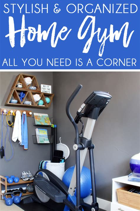 Home Decor Set stylish home gym ideas for small spaces blue i style
