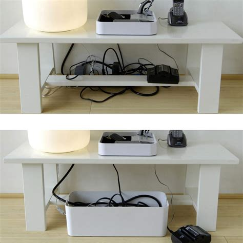 desk cable desk cable management organizer cablebox by blue lounge
