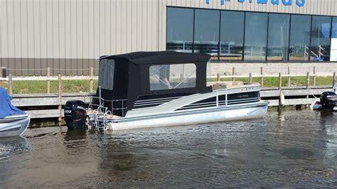custom pontoon enclosures custom pontoon boat enclosure pontoon half enclosure witn