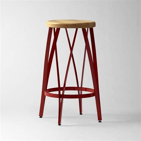ribbon bar stool counter stool west elm