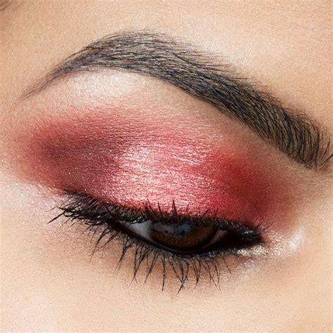eyeshadow tutorial red glitter red eyeshadow look tutorial