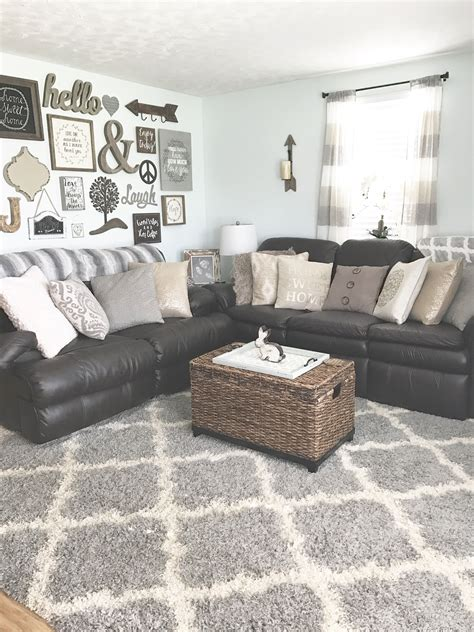 chic details  cozy rustic living room decor modern