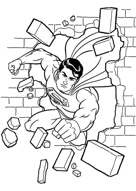 lego superman coloring page az coloring pages