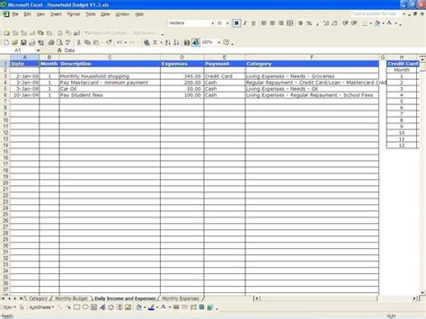 templates for business expenses expense spreadsheet template haisume