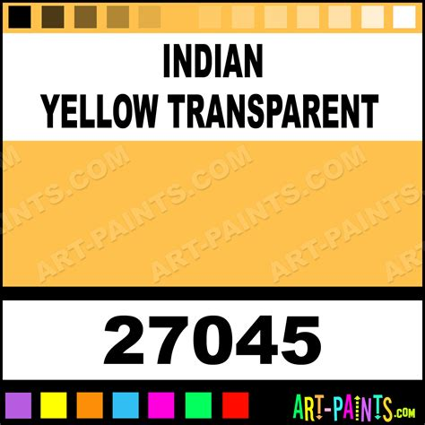 indian yellow transparent artists paints 27045 indian yellow transparent paint indian