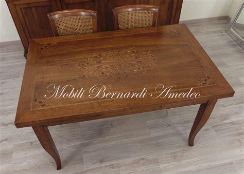 tavolo intarsiato tavoli allungabili con piano intarsiato tavoli