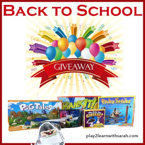 Back To School Giveaways - back to school game giveaway play 2 learn with sarah