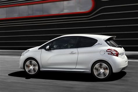 peugeot 208 sedan all new peugeot 208 gti hatchback pictures and details