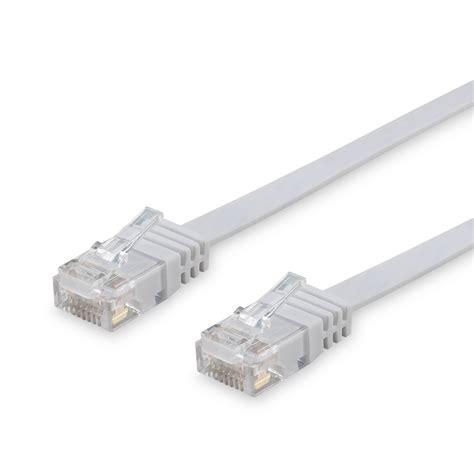 Kabel Lan Cat 6 15m 15m cat 6 patchkabel netzwerkkabel flachkabel flach kabel u utp dsl lan wei 223