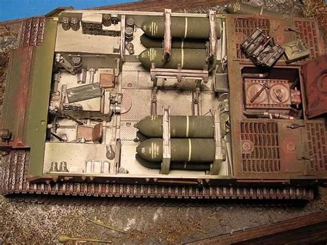 Model Home Pictures Interior sturmtiger tamiya 1 35 von uwe genth