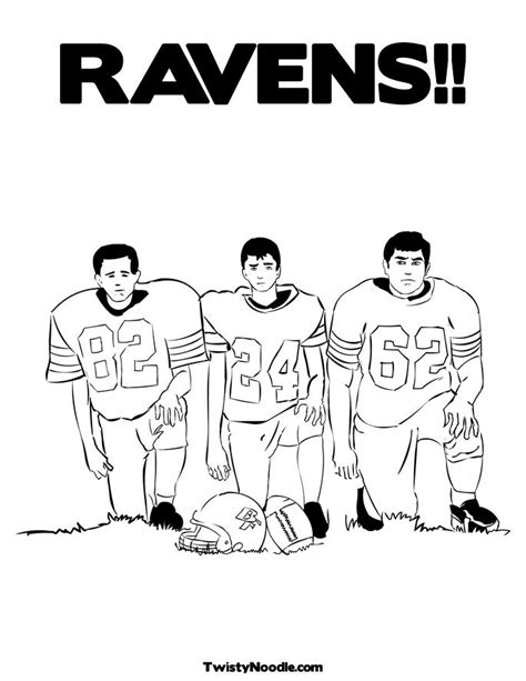 baltimore ravens logo coloring page www imgkid com the
