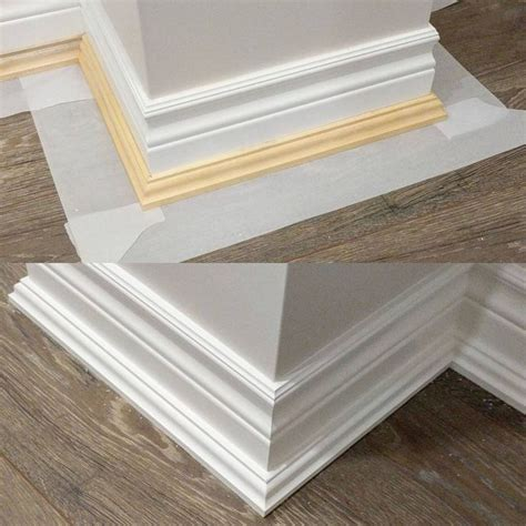 Floor Molding Ideas Best 25 Floor Molding Ideas On Baseboard Ideas Baseboards And Light Grey Walls