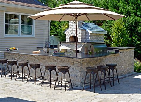 outdoor kitchen designs with pizza oven outdoor kitchens built in bbqs in island ny
