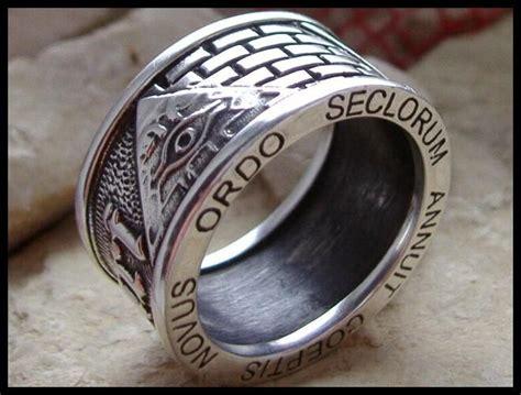 anello degli illuminati ajs collection straordinario anello degli illuminati con
