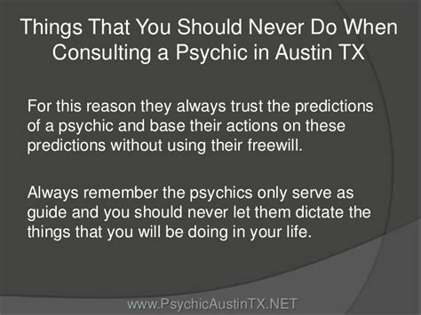 7 Items You Should Never Be Without by Things That You Should Never Do When Consulting A Psychic