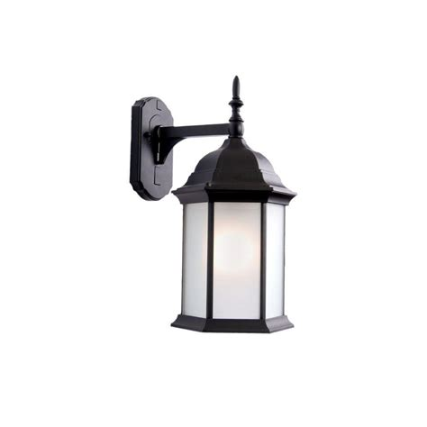 Craftsman Outdoor Light Fixtures by Acclaim Lighting Craftsman Collection 1 Light Matte Black Outdoor Wall Mount Light Fixture